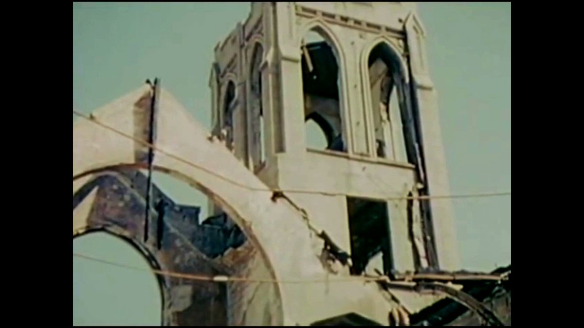 米軍が撮影した、原爆投下から8カ月後の広島。 昭和21年3月22日~4月8日。