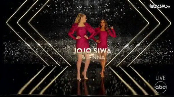 Rain on me, Cha-Cha time with the ladies, JoJo and Jenna.  I loved it! The music fits with the dance.  #DWTS @DancingABC