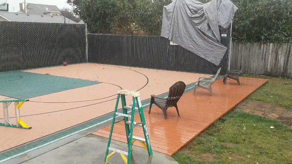 Much needed rain shower for Northern California #SoundOfRain