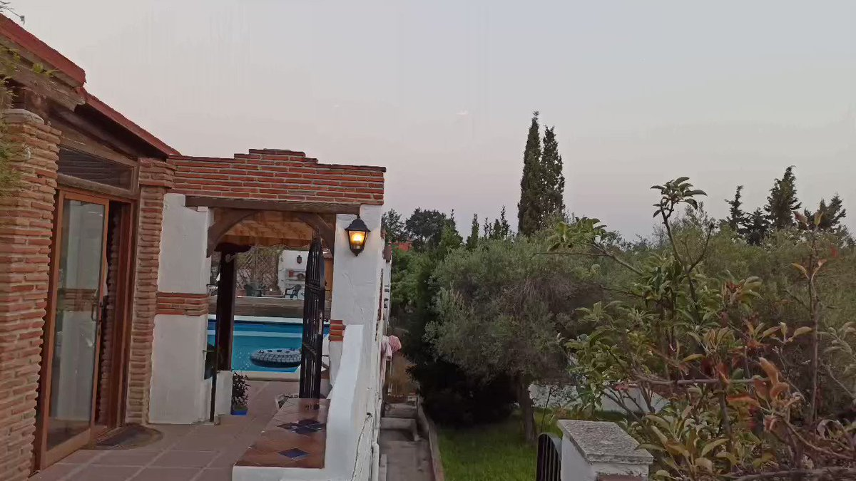De zonsondergang van vandaag. #spanje #puestadesol #sunset