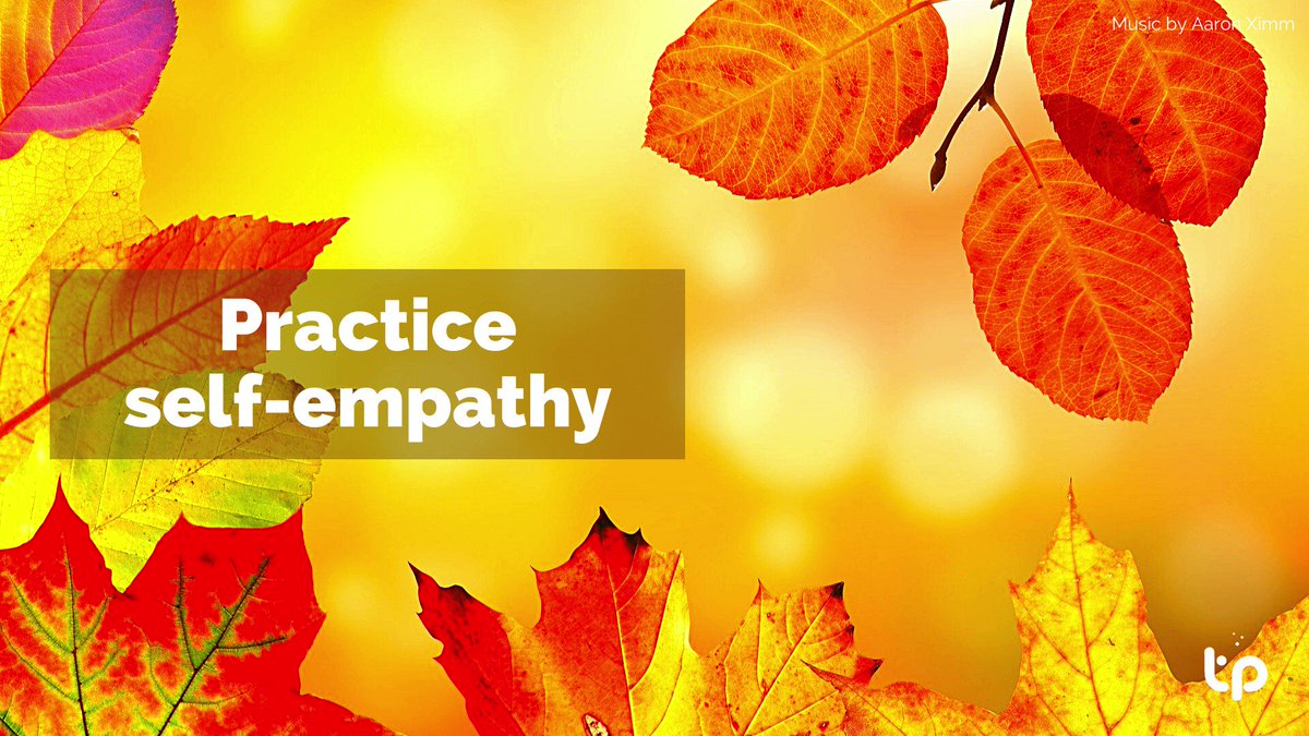 Practice self-empathy  Also you can practice nonviolent communication and mindfulness on:  Your meeting and collaboration platform  #tipicalls #nvc #meeting #videocalls #work #tips #practice #self #empathy