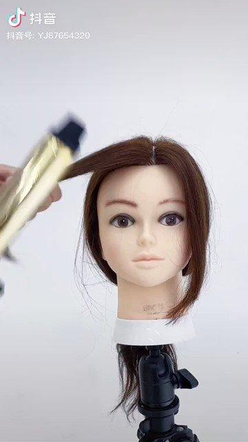 顔周りの髪の毛ってすごく重要!簡単に立体感の出る方法がこちら!