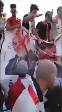 في العراق تسمع هذه الشعارات ايران برة برة بعد ان سئم العراقيون من قبضة الملالي