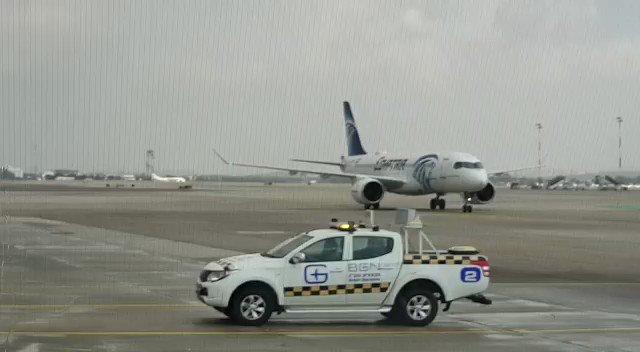 .   بالفيديو :        اهلا وسهلا برحلة ايجيبت اير  في مطار بن غوريون  الدولي  من