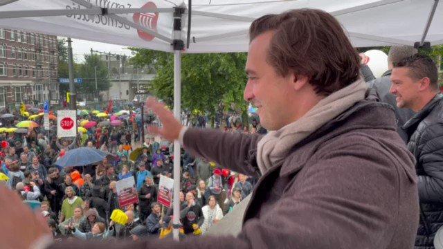 Dutch rally against health pass in Amsterdam again GKRu-I5YKRpcasXP