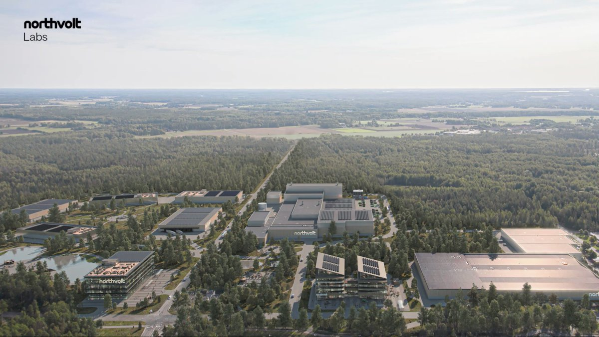 """""""By establishing a campus where industrial actors can engage, it's our belief that we can create the necessary foundation for Europe to emerge as the leading region for a technology that's at the heart of the race to decarbonize."""" – Peter Carlsson, CEO Northvolt https://t.co/fF5V8NKVXm"""