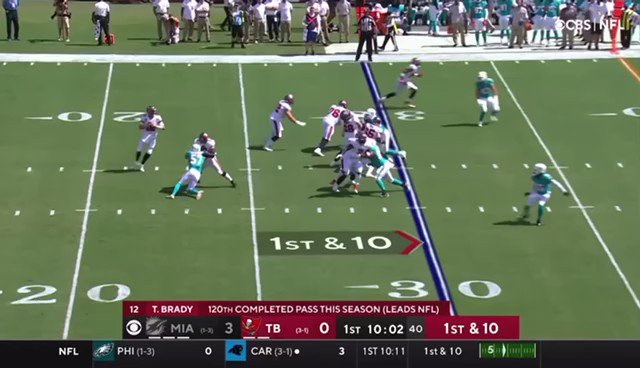 RT @spurs_four: Tom Brady 20+ air yard passes from his historic 411 yard 5 touchdown day https://t.co/yk6xQQquoP