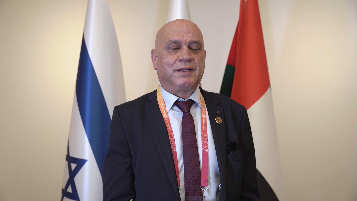 وزير التعاون الإقليمي عيساوي فريج زار الجناح الاسرائيلي عشية مشاركته في مؤتمر