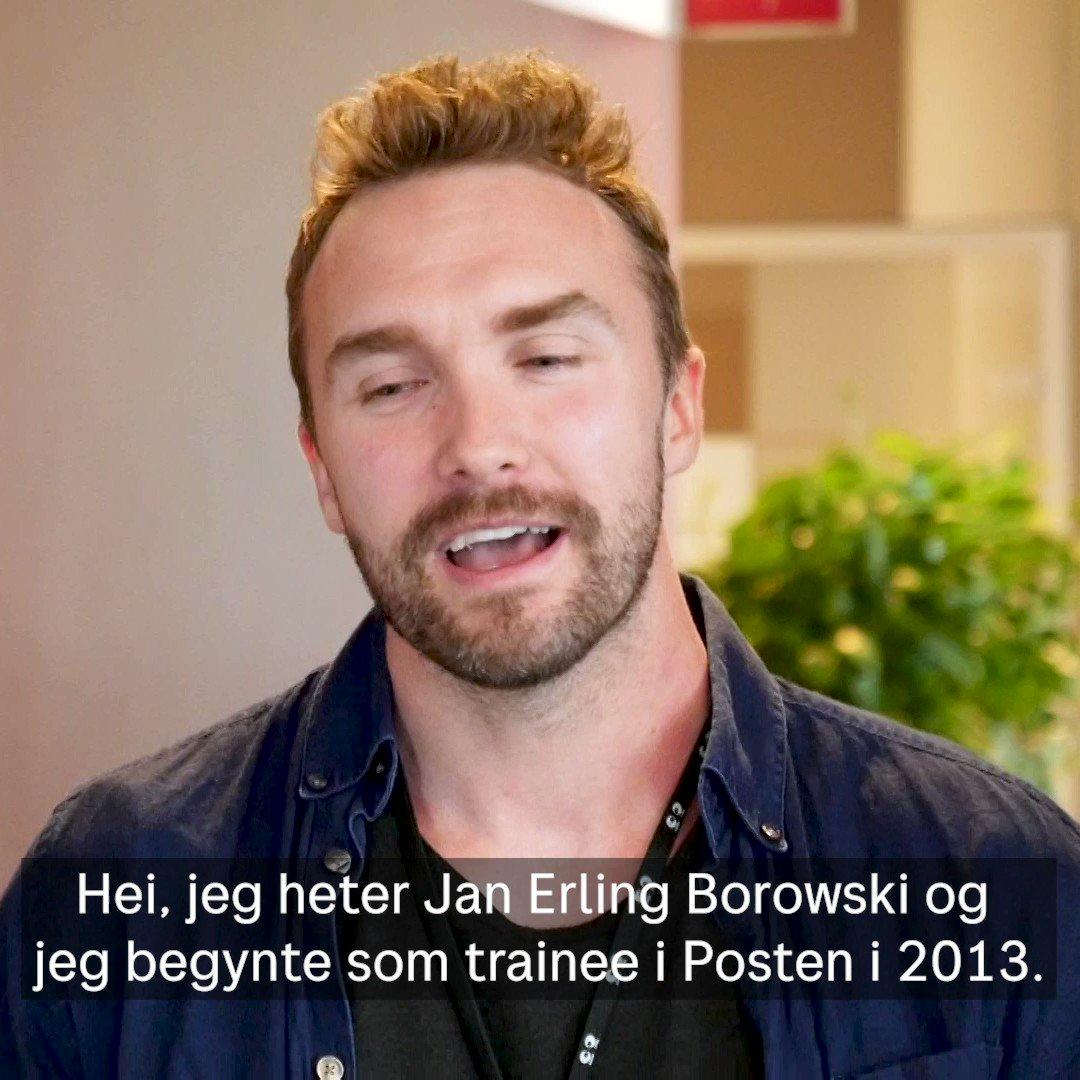 Jan Erling Borowski startet i Posten som trainee, i dag leder et team med programmerere og har blant annet ansvar for Posten-appen og 1,3 millioner brukere. Hør om hans reise i konsernet i videoen.  Les mer om Traineeprogrammet her: https://t.co/Ni0PBipsb8 https://t.co/Uj7CLPO0ZC