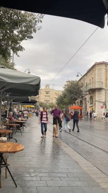 تلبس الطبيعة في إسرائيل حلة خريفية جديدة في الفيديو: شوارع أورشليم القدس