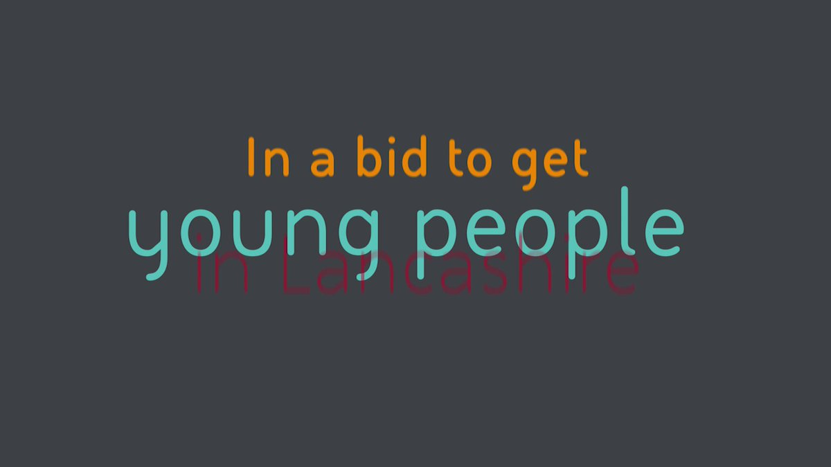 Such a fantastic offer for our young people! If you haven't signed up yet, drop me a message for info! #InspiringLancashire