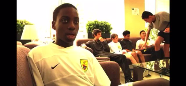 Quite remarkable for a just turned 13-year-old kid to put into context what his team was trying to do soccer-wise but also the opportunity he and his teammates had. https://t.co/R7NBzqJUkc