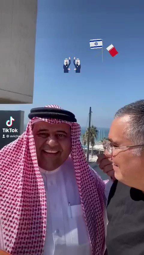 ما أجمل لقاء الاحبة والتعايش. صديقي البحريني  @aldhirabi شرفني بزيارة الى