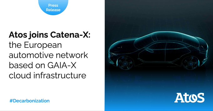 It's time to hit the road! 🚘Atos is now a member of #CatenaX, the...