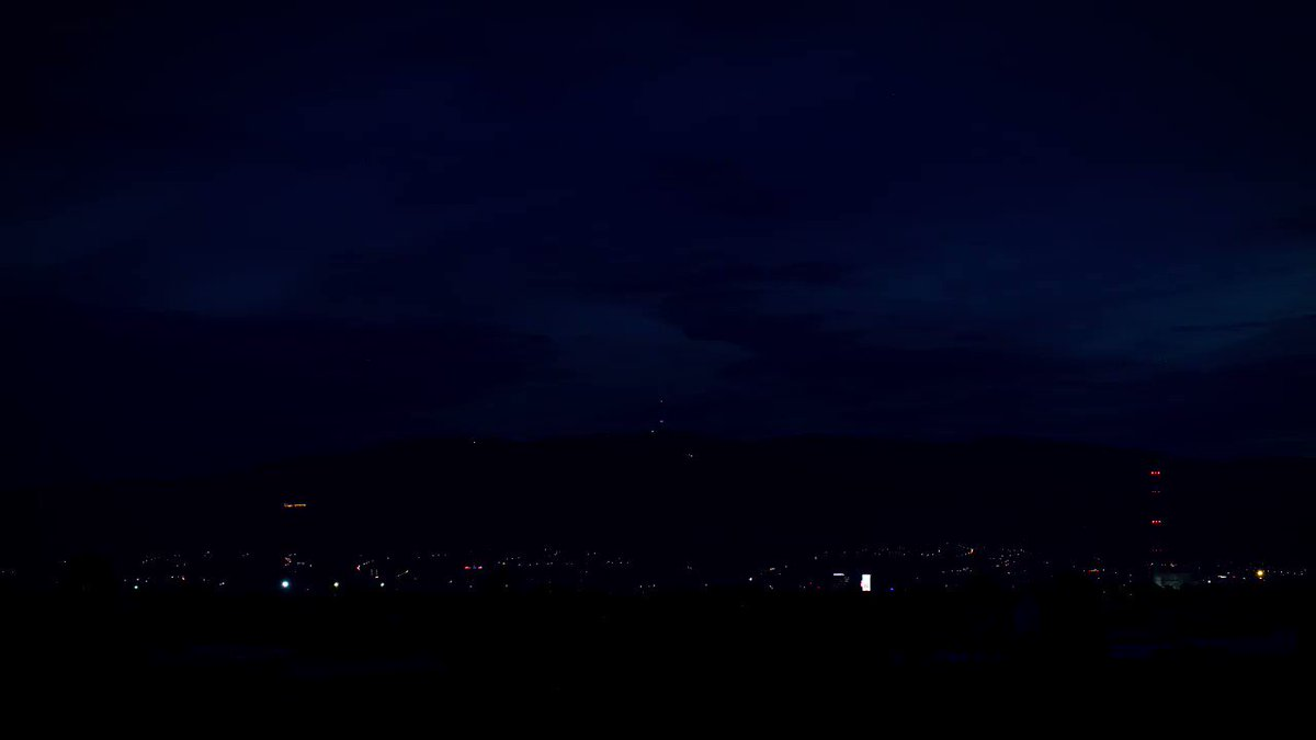 Image for the Tweet beginning: #Zagreb in one minute by