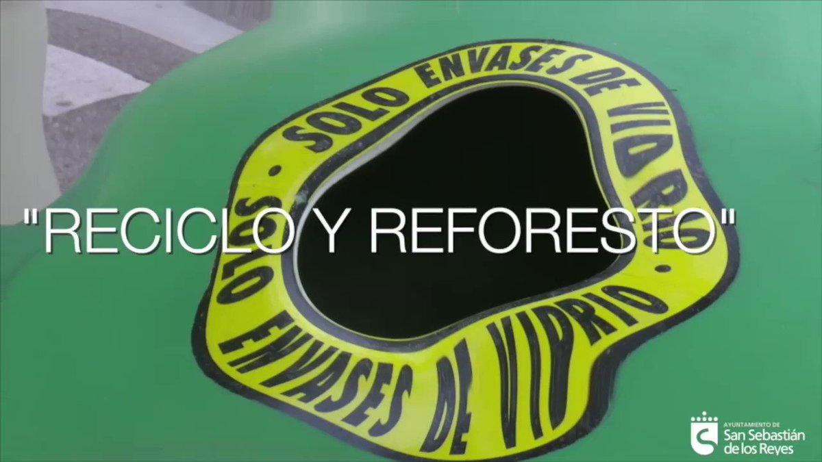 """Image for the Tweet beginning: """"Reciclo y Reforesto"""", la campaña"""