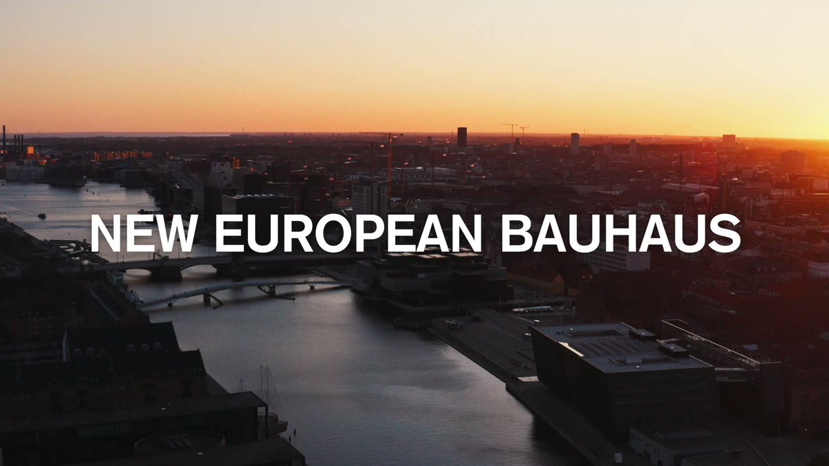 Let's design an irresistible circular society - together!  The Danish-led bid for a #NewEuropeanBauhaus is well underway as a joint collaboration between the @BLOX_KBH partners and @DanskIndustri. We're aiming for a viable movement based on co-creation.  Join in!  #dkgreen