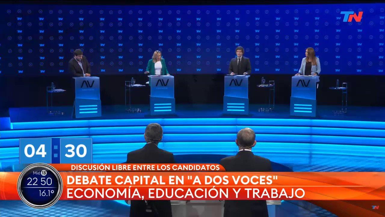 #DebateCapital Twitter