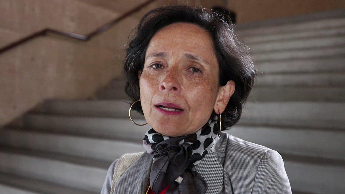 Image for the Tweet beginning: Luz Marina Monzón, directora de