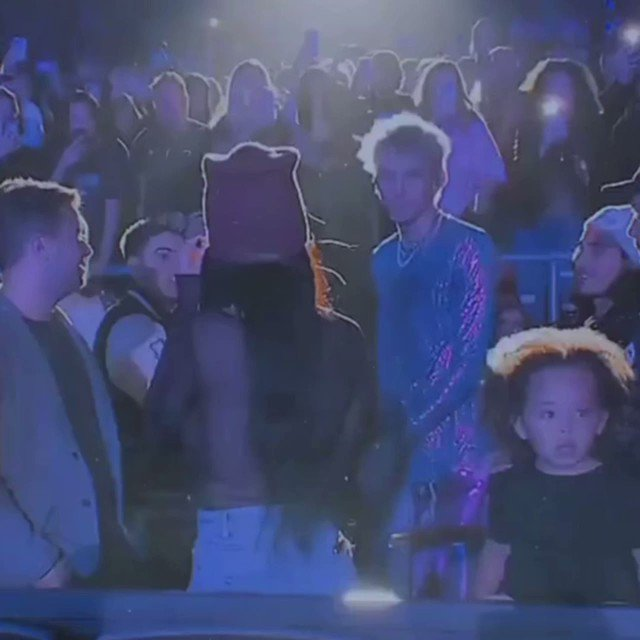 Machine Gun Kelly Stops Show to Passionately Kiss Megan Fox In Front of Everyone