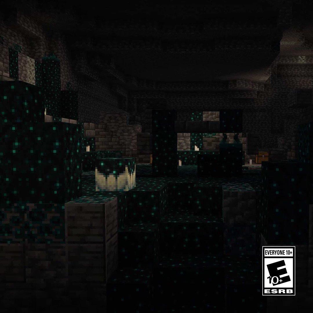 @Minecraft's photo on Deep Dark