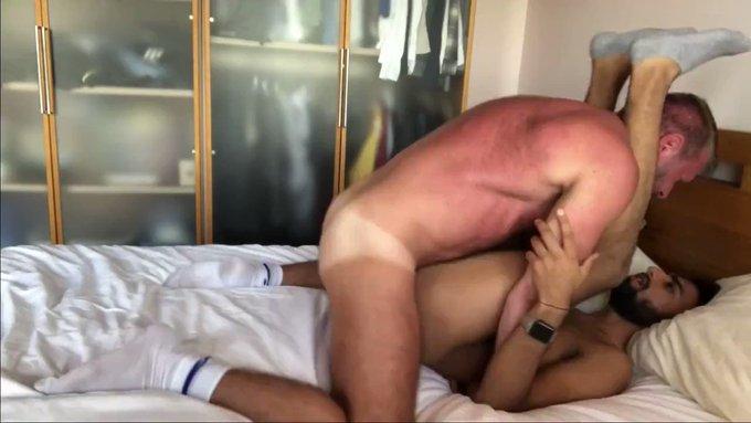 Daddy cums inside then makes boy cum💦💦 https://t.co/a86QITdkAs