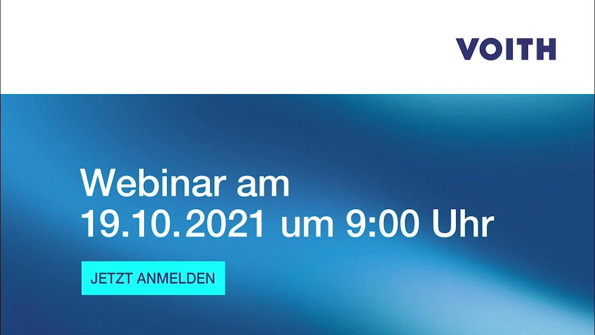 #Hydraulik ist komplex, verursacht hohe Betriebskosten und ist umweltschädlich? Die Experten von #Voith zeigen Ihnen das Gegenteil – im Live-Webinar über servohydraulische Antriebe am 19.10.2021 um 9:00 Uhr. Jetzt anmelden: https://t.co/JQ8iPO1Tmx #vfv21 #ad #webinar