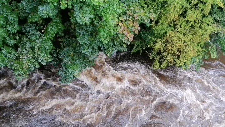 Yağmurdan sonra #riverkelvin #glasgow