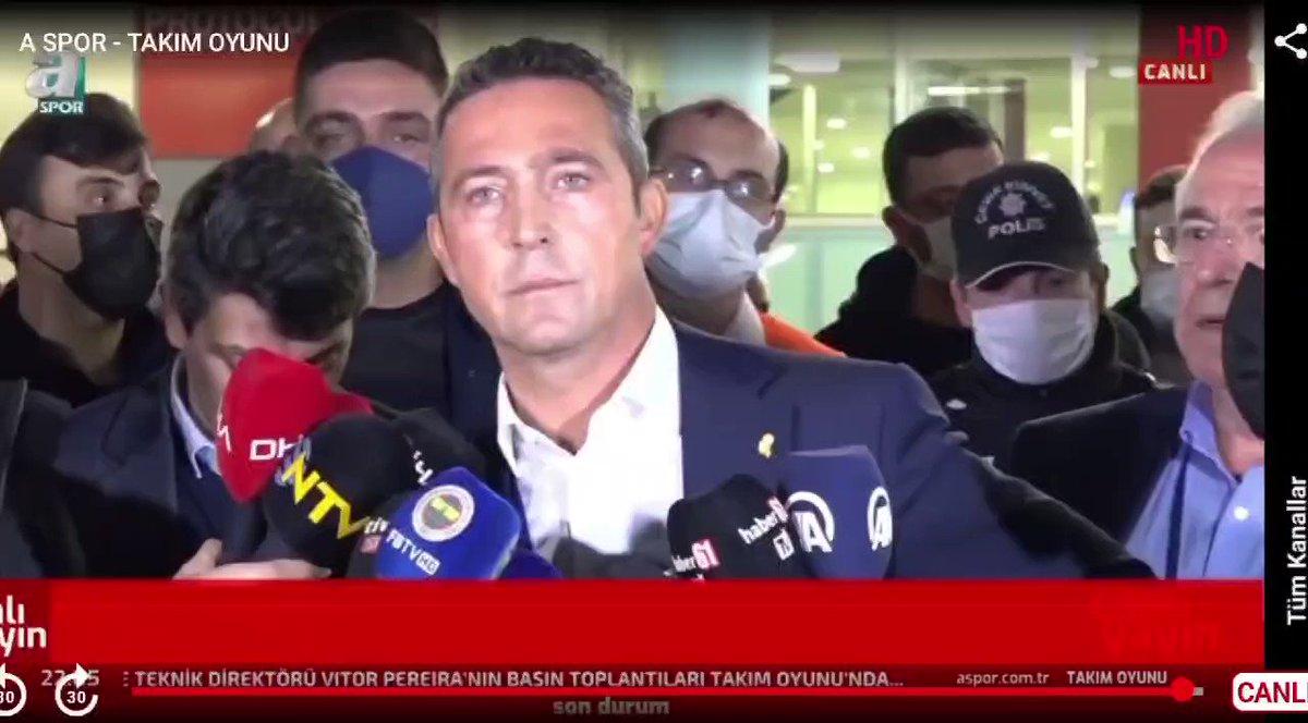 Haber61 Muhabiri Tuncay Lakot'un Fenerbahçe Başkanı Ali Koç'u gaza getirerek sorduğu soru Trabzonspor taraftarını şok etti.