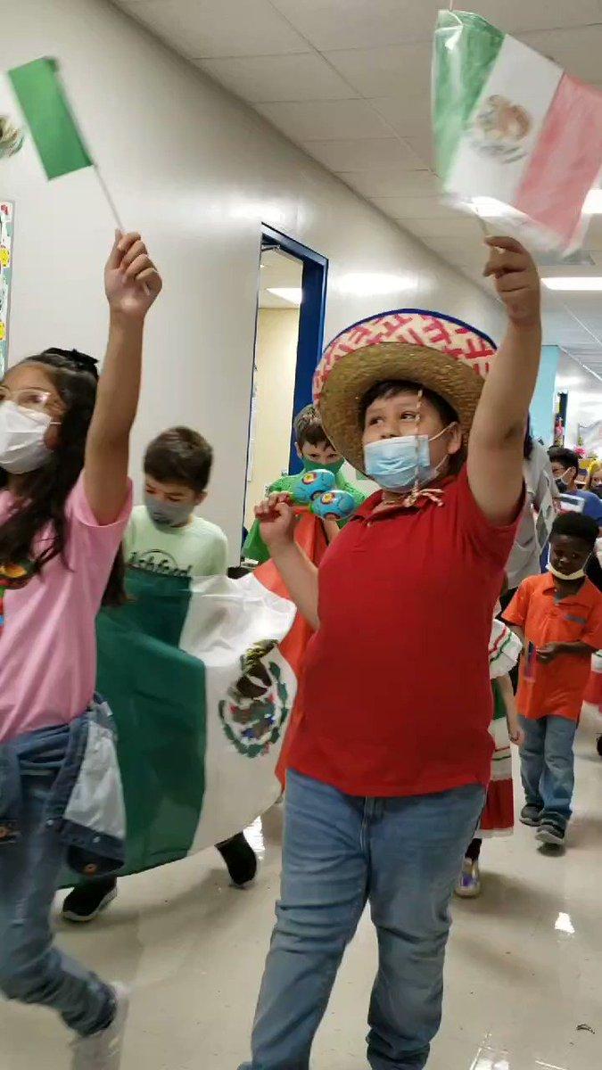 Ending Hispanic Heritage month with a bang! @Ashford_Hisd @hispanicheritage #celebratinginstyle