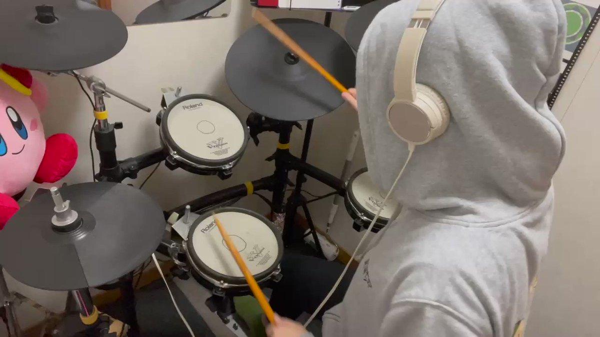 久々のドラム叩いてみた動画🥁ワクチンまでに間に合ってよかった。@MyRoland #リサイタルズ #ドラム#叩いてみた