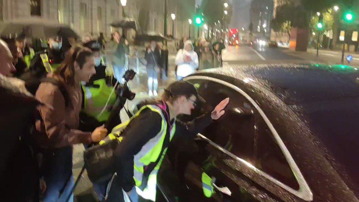 "Image for the Tweet beginning: NOW - Crowd chants ""Arrest"