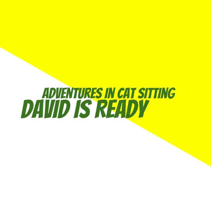 Happy #Caturday! I hope you enjoy David's zany antics as much as I do.