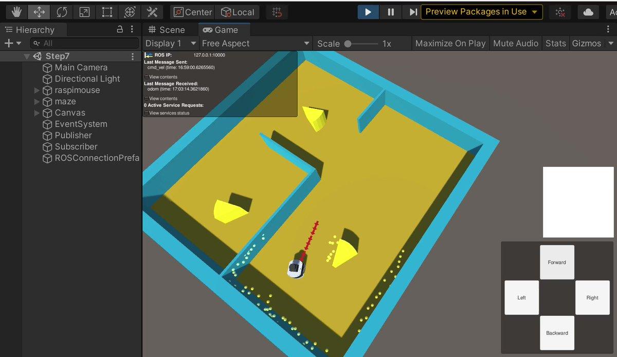 Ubuntuで「UnityとROSで学ぶ移動ロボット入門」を動かしてみた!たのしーー!