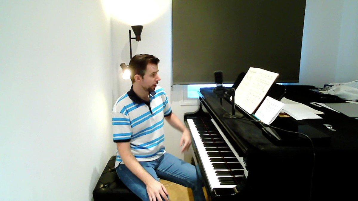 Image for the Tweet beginning: Comienza @pianomora desde el piano