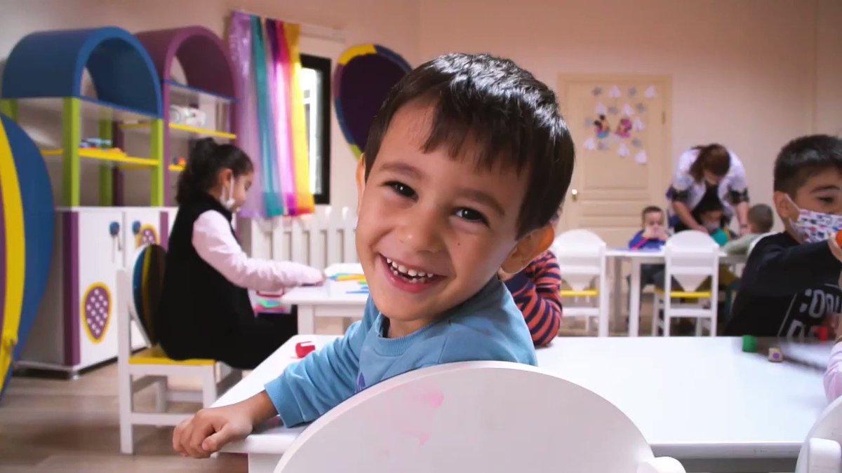Image for the Tweet beginning: Çocuklar gülsün, mutlu olsun, öğrensin