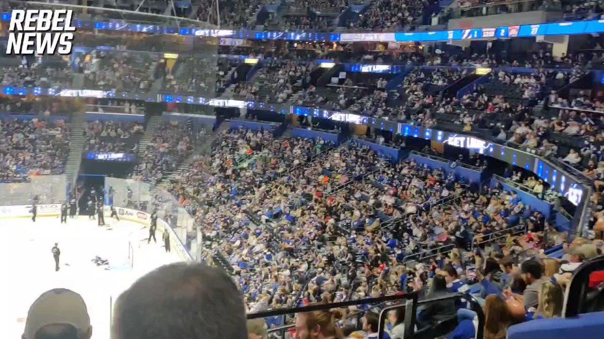 RT @Yanky_Pollak: Tampa Bay Lightning vs Florida Panthers.  No masks no vaccine passports just hockey! https://t.co/AmsLtbXsql