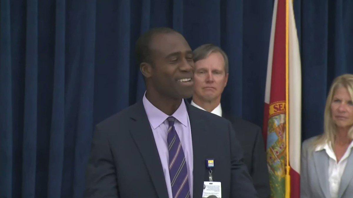Image for the Tweet beginning: Florida's New Surgeon General Asks