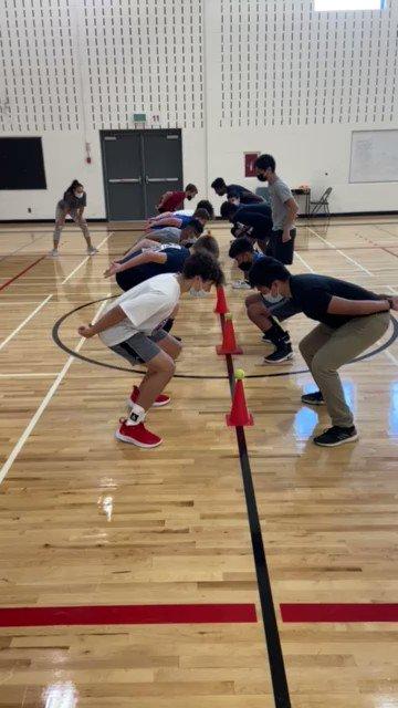 Nice work team! Coach @mr_carangal needs a little extra practice 😅