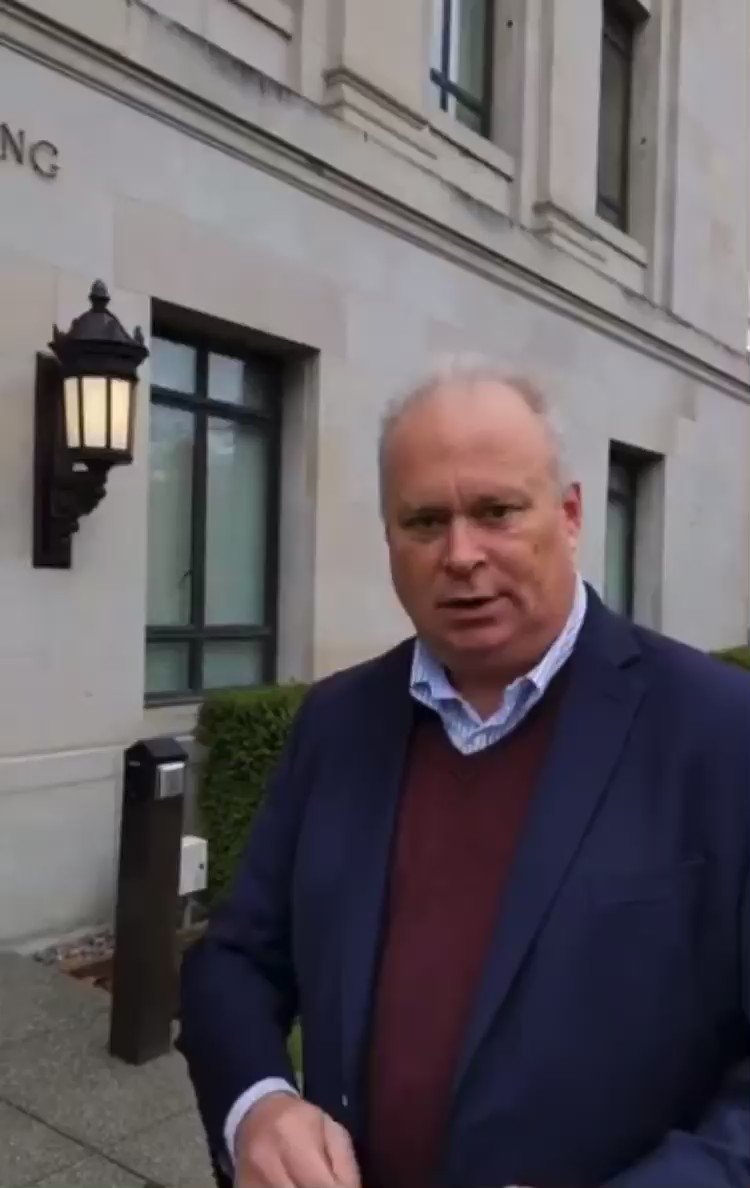 WA GOP State Rep. Jim Walsh discovered that his key card has been deactivated, and he has been locked out of the Capitol and office complex for failure to provide proof of vaccination this week.
