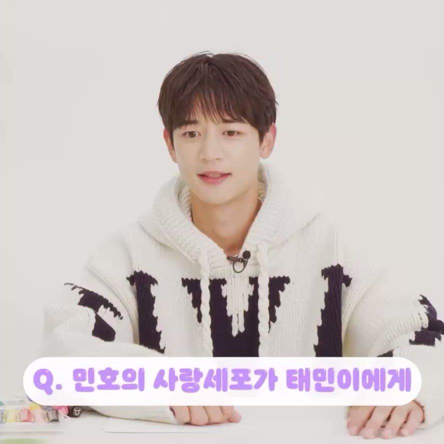 211021 - Harper's Bazaar Korea - Minho Röportajı  Minho'nun aşk hücresiden Taemin'e :  'Taemin şu an askerde sıkı çalışıyor. Umarım sağlıklı kalır ve sağ salim geri döner. Taemin'i seven ve ona destek gönderen bir sürü insan var. (...)  #SHINee #Minho