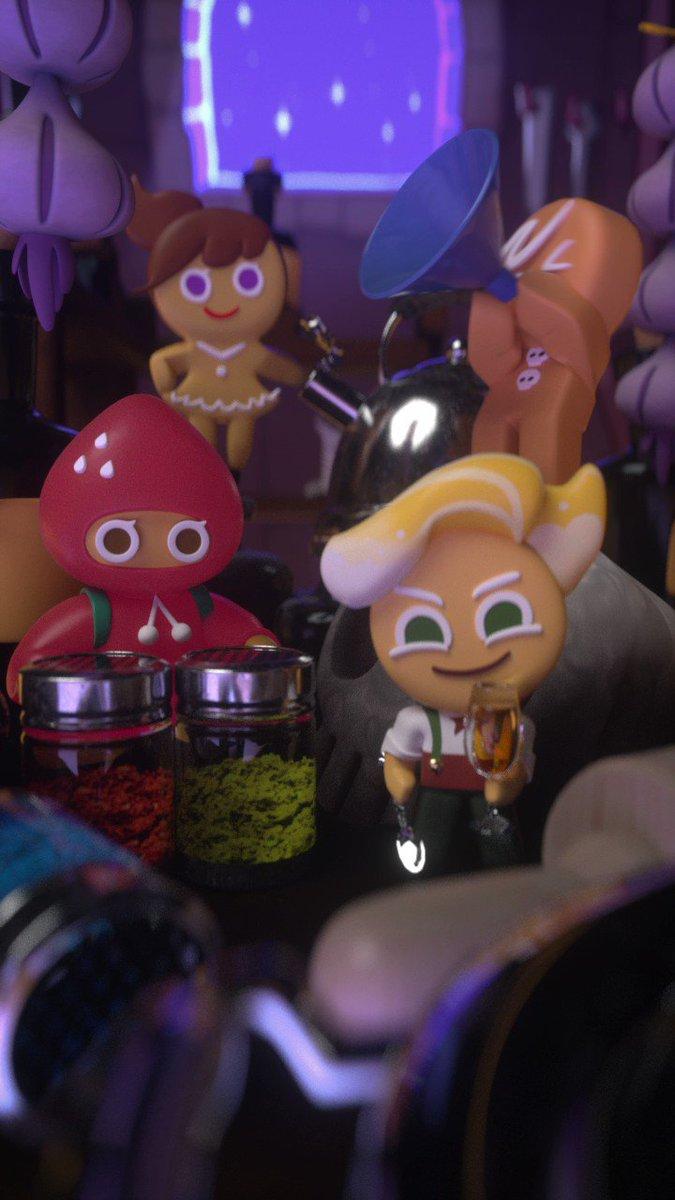 🍪#サクサククッキーSHOW!🍪友達のみんなと演奏してみたよ🎶 (キッチンで調理器具で遊んだのは魔女には秘密だよ〜🤫)今日はTikTokにどんなものを公開したのかチェックしてみてね!👇ボクのTikTok#演奏って楽しいね〜#魔女には秘密#クッキーラン