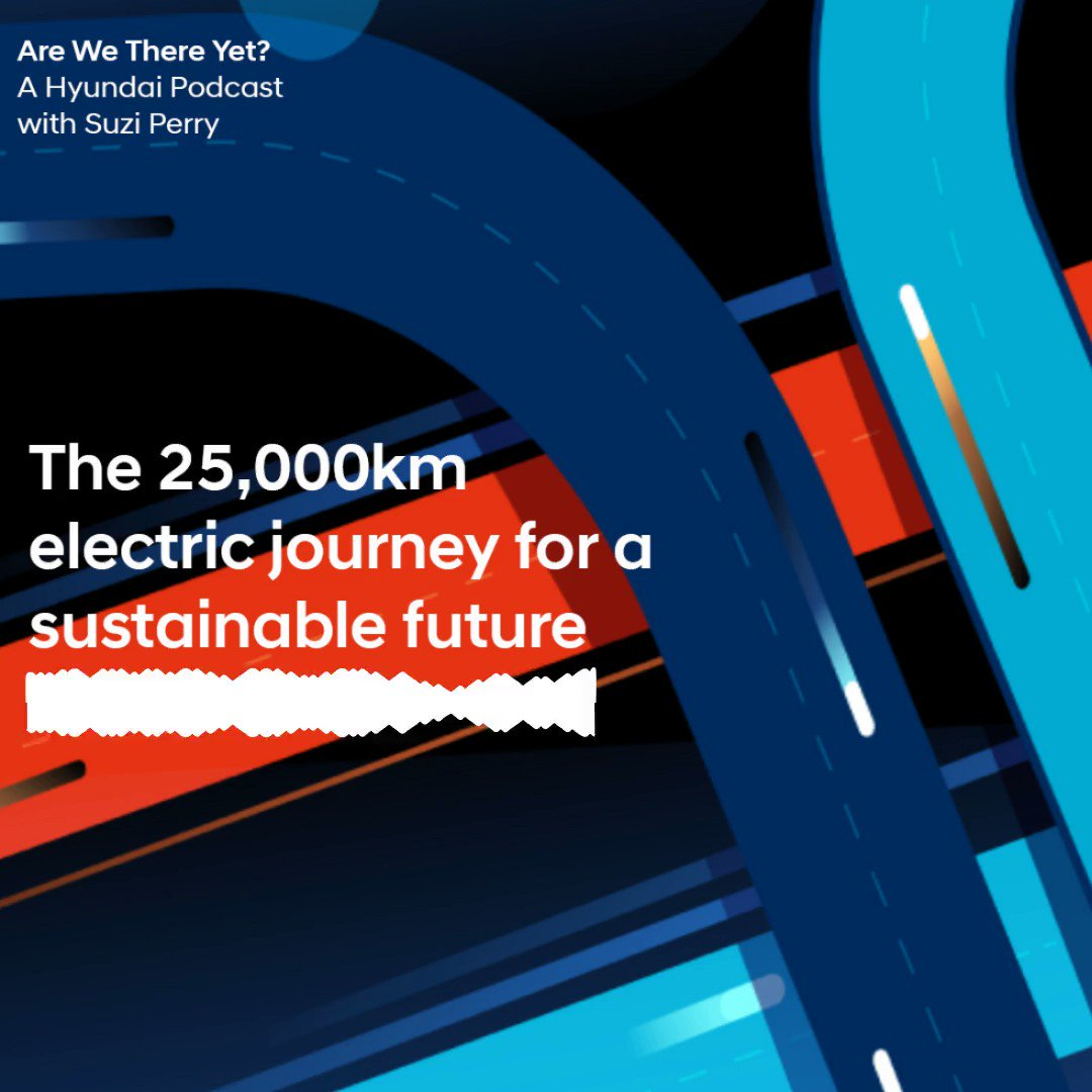 Our Hyundai Podcast starts a new season! In the first episode, Alana Alvarez and Manuel Bustelo, ambassadors from Divers Alert Network Europe (DAN), talk to host Suzi Perry about their sustainable tour through Europe with the KONA Electric. Listen here: https://t.co/GRt30E2wXe https://t.co/06g19H9ig6