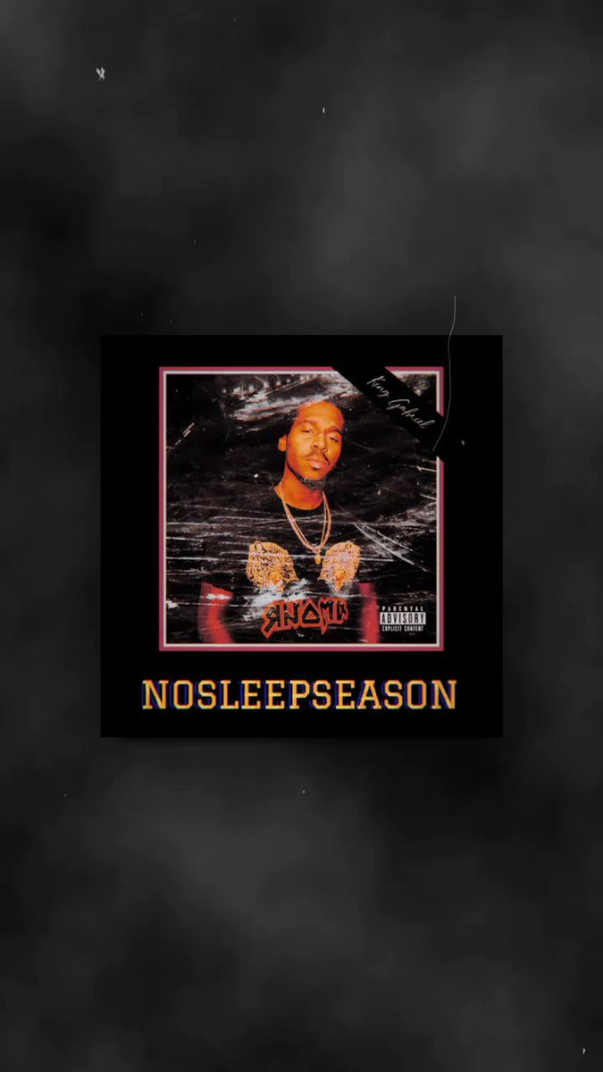 Out Now!!! music.apple.com/us/album/no-sl…  Other platforms:  KingGabriel.OnUniverse.com  Let me know your favorite track and share to me which one you enjoy !   #nosleepseason #newmusicfriday