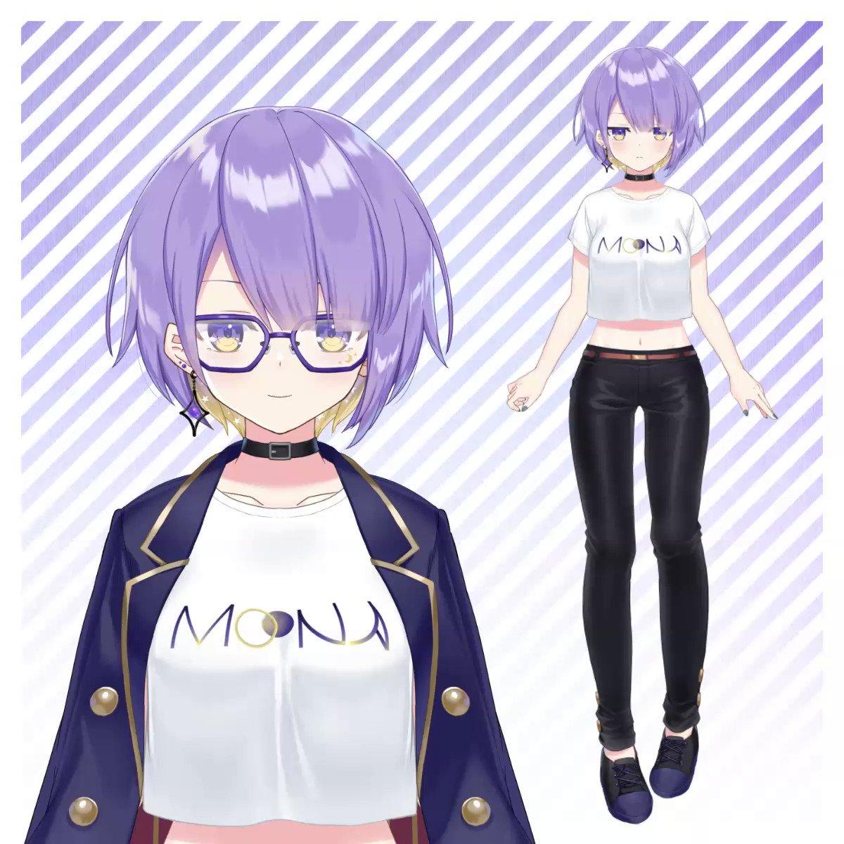 【制作報告】ホロライブID ムーナ・ホシノヴァさん(@moonahoshinova)の新衣装Live2Dを担当させていただきました!I rigged a new outfit for Moona Hoshinova, who belongs to Hololive ID!イラスト:により先生(@ nyorinyori)ベースモデル:Jujube先生(@ MegaJujube)#holoIDNewCostume #holoID