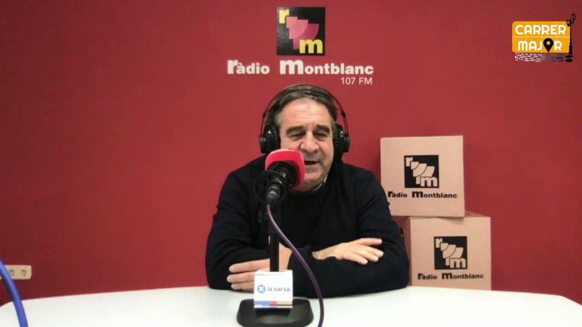 Image for the Tweet beginning: #CarrerMajor 🎙️ @jandreud, alcalde d'@ajmontblanc