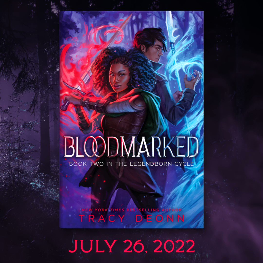 The shadows have risen, and the Line is Law.🔥  ICYMI, the cover of BLOODMARKED is here! Prologue & synopsis are up at i09 dlvr.it/SB5m4v. Pre-order links below. July 26, 2022.  Indies: bit.ly/3ngUBoZ B&N: bit.ly/3nlgYcY AMZ: amzn.to/30I6Ini