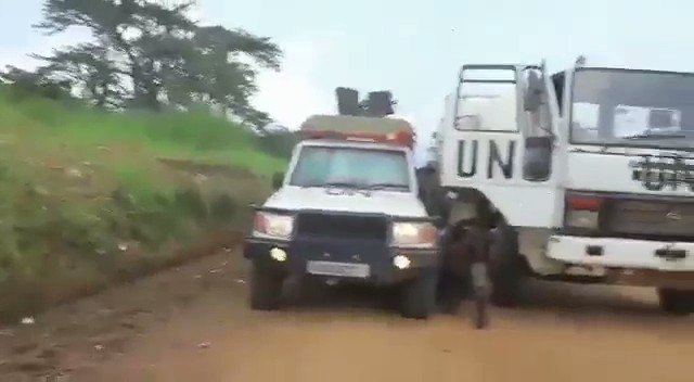 #DRCongo: A UN convoy came under fire from ISCAP militants in Rwenzori area in Beni. Outcome of this incident still unknown as of now. This is despite the UN denying the presence of Islamic State in Congo. Will the UN finally admit the Islamic State is in Congo after this?  1/2.