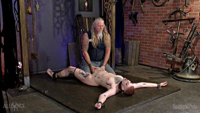 slave Position Belly Up #ElectricalShocks #Whipping #Caning #CaneMarks #Bondage #Domination #Masochism