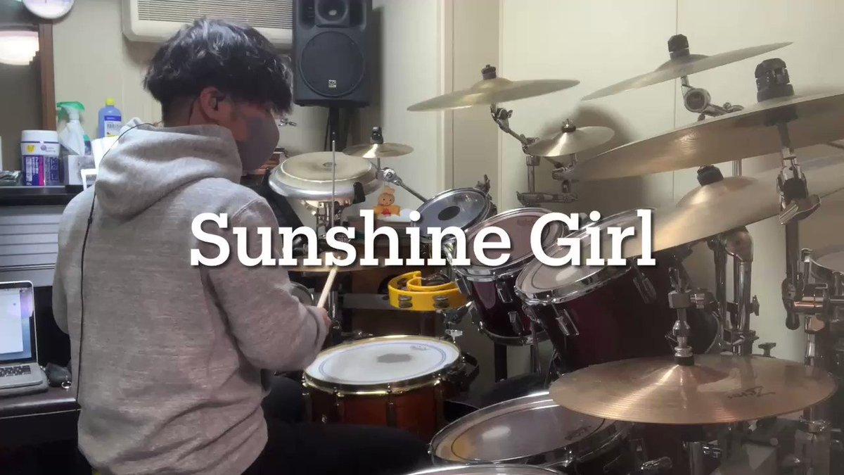 TikTokで路上ライブの映像を見てかっこいいと思ったバンド!#ソウルズ#SunshineGirl#叩いてみた